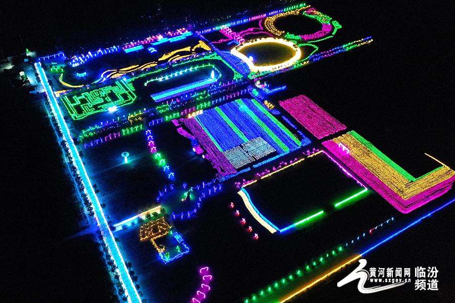 临汾第三届3D光影灯光节将于19日开幕